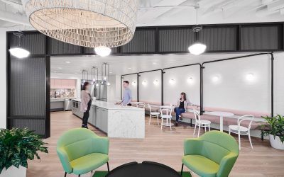COMMERCIAL SPACES REDESIGNED TO PROVIDE COVID-SAFE ENVIRONMENT