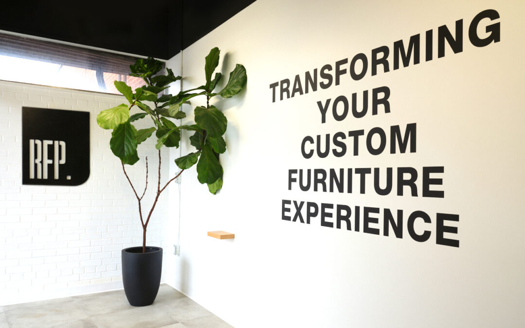 The RFP approach to custom furniture manufacturing